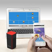 HooToo TripMate HT-TM05 Wireless Travel Router, 10400 mAh External Battery Charger Powerbank, Wi-Fi Media Streaming for Flash Drive and Hard Disk